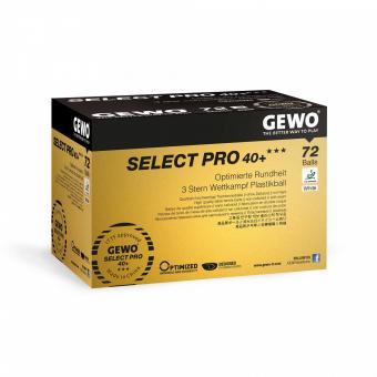 GEWO Select Pro 40+ *** 72er